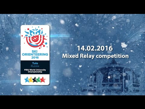 Mixed Relay competition in HD quality  - 1st World Ski Orienteering University Championship 2016