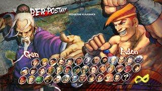 Gen vs Adon, Ultra Street Fighter 4, usf4, Ultra Street Fighter IV, Capcom, PC gameplay,
