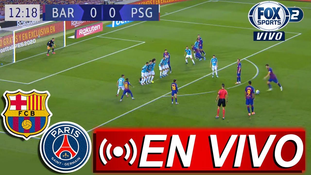 🔴 FC Barcelona vs PSG 2021 ⚽ Fox Sports Deportes ...