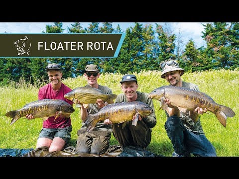 SURFACE FISHING FOR CARP - Floater Rota Roadtrip