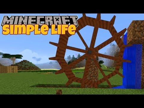 Minecraft | Simple Life | #7 HYDRO POWER