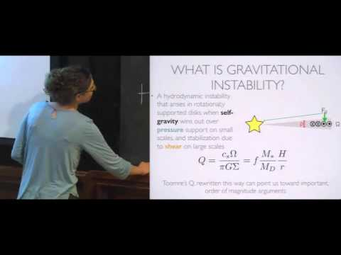 Formation of Giant Planets by Gravitational Instability — Kaitlin Kratter (Univ  of Arizona) 2015