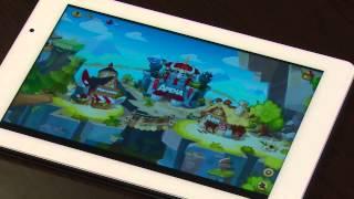 Обзор игр февраля на Андроид на планшете ImPAd 8901