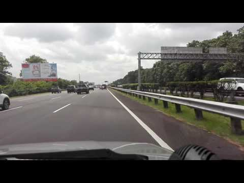 Indonesia Tourism On Jagorawi Highway December 2016