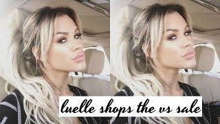 luelle takes a trip to the victorias secret semi annual sale | DailyPolina