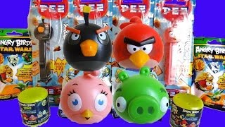 Angry Birds Surprise Eggs, Mash