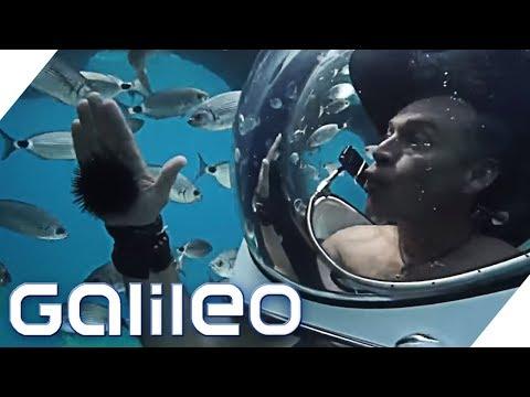 U-Boot in James Bond-Manier | Galileo | ProSieben