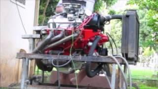Moteur V6 GM test - ça pousse Et ça casse!!!!...