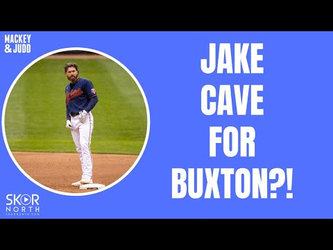 Why is Jake Cave the insurance policy for Byron Buxton?
