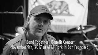 Metallica: Band Together Bay Area Announcement