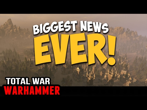 Biggest News Ever - Custom Maps for Warhammer Campaign!!! (And More)