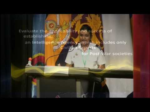 Identifying the Core Challenge in the Post-Conflict Peace Setting in Sri Lanka part 2