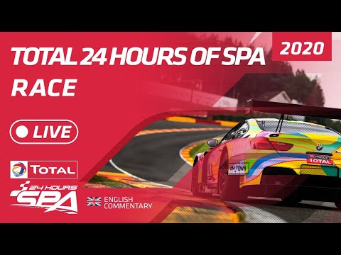 RACE Part 1 - TOTAL 24 HOURS SPA 2020 - ENGLISH