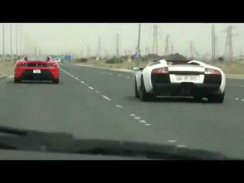 Kuwait-Cars Racing And Playing Around