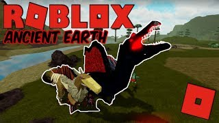 Roblox Ancient Earth - FINALLY AN UPDATE! (BLOOD SPINO UPDATE!)