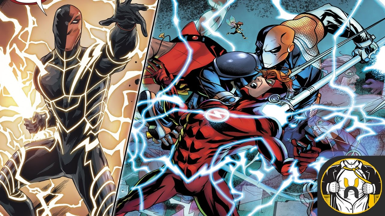 Deathstroke Steals Flash Kid Flash S Speed Teen Titans 8 Youtube
