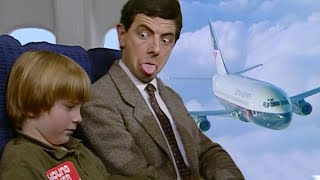 Safe Flight Mr Bean! | Funny Clips | Mr Bean Official