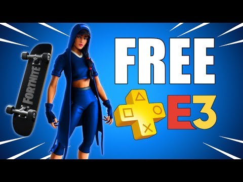 𝗙𝗥𝗘𝗘-𝗣𝗦-𝗣𝗟𝗨𝗦-skin-fortnite-&-𝗣𝗦𝟰-games-at-𝗘𝟯-2019-(ps-plus-update-&-playstation-news)