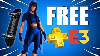 𝗙𝗥𝗘𝗘 𝗣𝗦 𝗣𝗟𝗨𝗦 Skin Fortnite & 𝗣𝗦𝟰 Games At 𝗘𝟯 2019 (PS Plus Update & Playstation News)