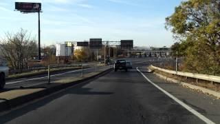 New Jersey Turnpike (Exit 15E) outbound