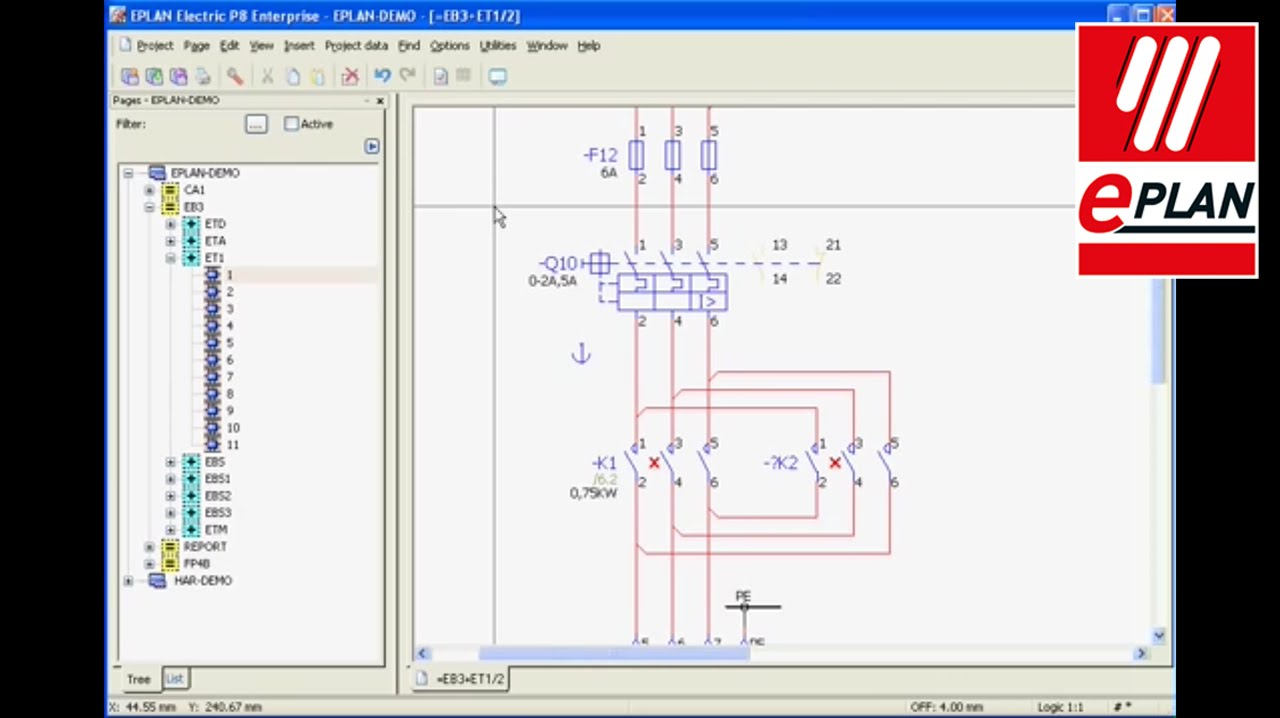 Eplan electric p8 macro value set youtube for What is eplan software