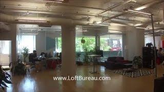 Superbe bureau a louer style loft Plateau Mont Royal 5326 pc