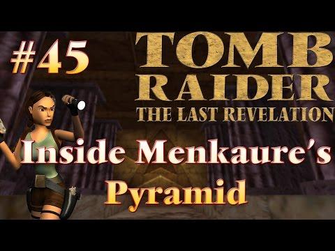 Tomb Raider IV The Last Revelation: #45 - Inside Menkaure's Pyramid  