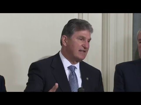 Manchin and Markey Discuss Opposition to FDA Nominee Dr. Robert Califf at Press Conference