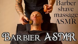 ✂️Barbier ASMR - French Barber shave massage relaxing