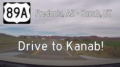 US Highway 89A - Fredonia AZ - Kanab UT | Drive America's Highways 🚙