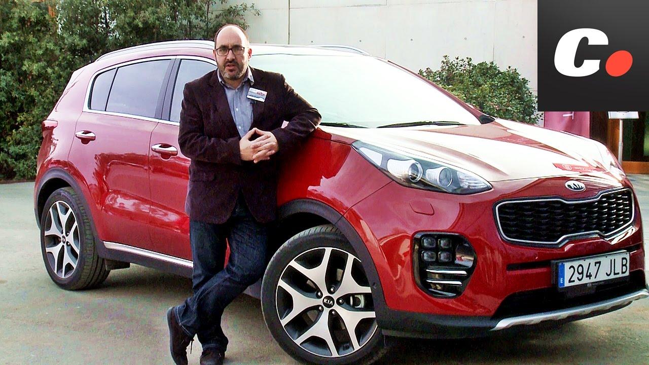 kia sportage suv   primera prueba / review en español   contacto