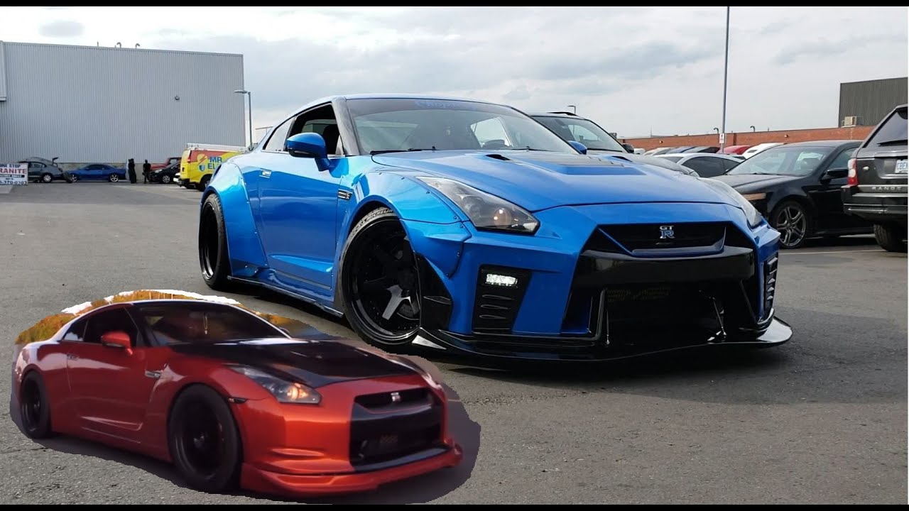 Aimgain Widebody Nissan GTR Ripping It - Complete Makeover