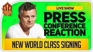 SOLSKJAER Press Conference! POGBA & McTominay Back This Week?