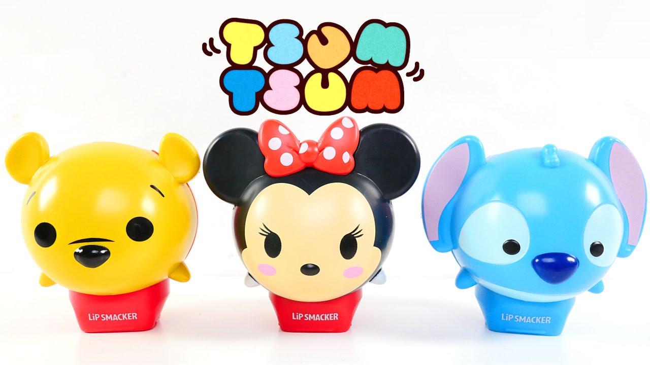 Disney Tsum Tsum Balsamos Para Labios Apilables 💄 Winnie