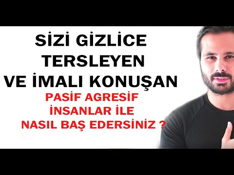 SİZİ GİZLİCE TERSLEYEN, LAF ÇARPAN PASİF AGRESİFLERİ YÖNETİN ! (Kişisel Gelişim Videoları )