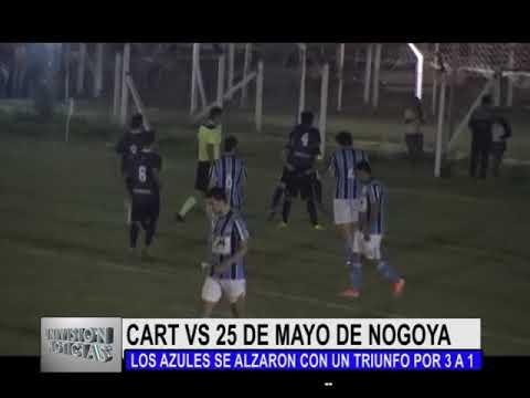 CLUB ATLETICO ROSARIO TALA VS 25 DE MAYO DE NOGOYA 22 11 17 RESUMEN