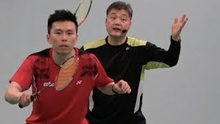 Badminton-The Must Tactical Skills in Doubles (3) Smash, move in and kill