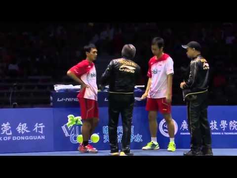 Cai Yun   Fu Haifeng vs Mohammad Ahsan  Hendra Setiawan 2015