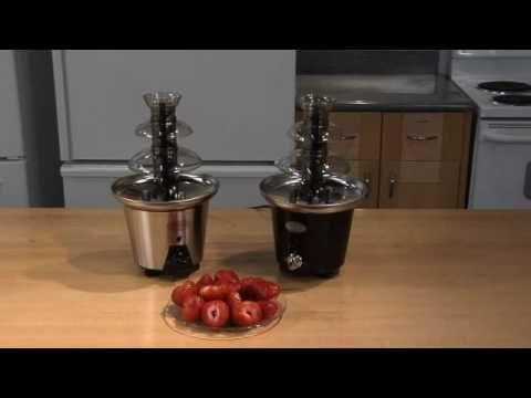 Kotula's 2 Tier Chocolate Fountain by Nostalgia Electrics