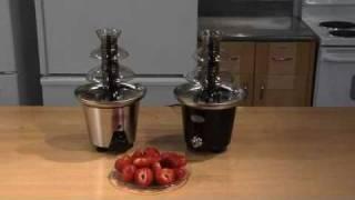 kotula s 2 tier chocolate fountain by nostalgia electrics