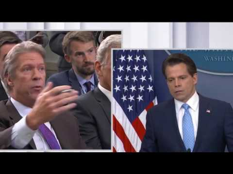 Pres Trump's New Communications Director Anthony Scaramucci Speaks After Sean Spicer Resigns!!!