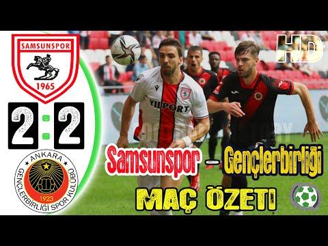 Samsunspor 2-2 Gençlerbirliği Maç Özeti - HD - 19/09/2021