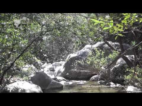 Göynük Kanyonu Doğası Likya Yolları Antalya Göynük Canyon Nature of the Lycian Ways