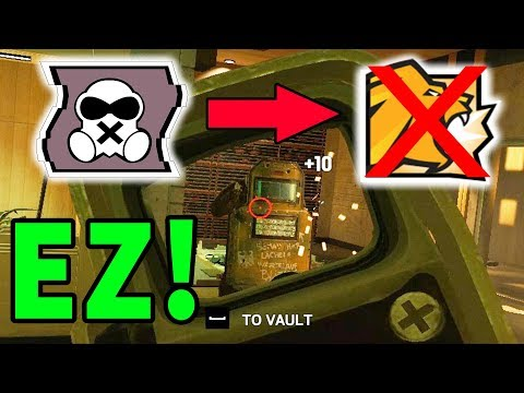 MUTE = EZ LION COUNTER! - Rainbow Six Siege Gameplay