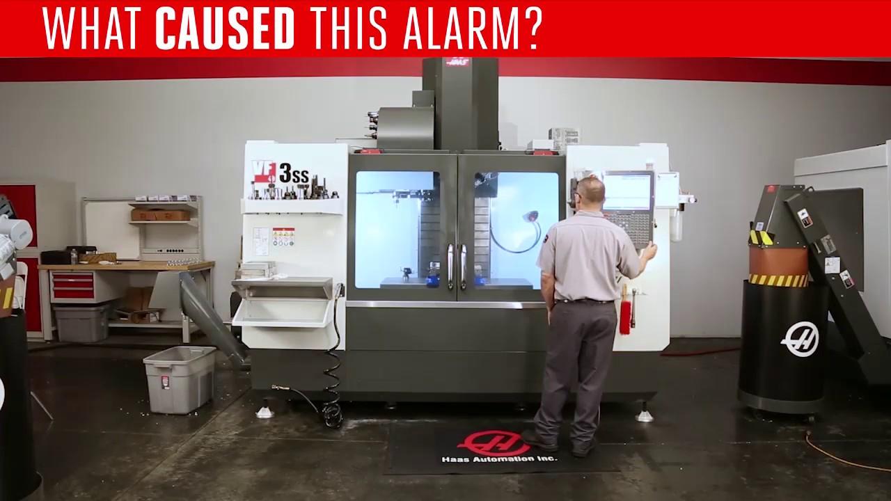 Alarm 4001 Low Air During Tool Change