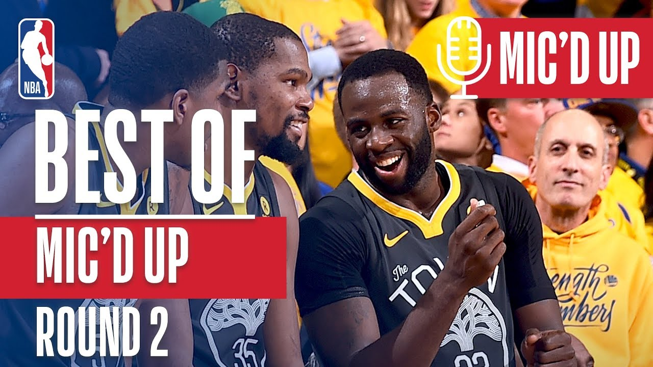 Best All Access Mic D Up Moments Of The 2018 Nba Playoffs Conference Semifinals Youtube