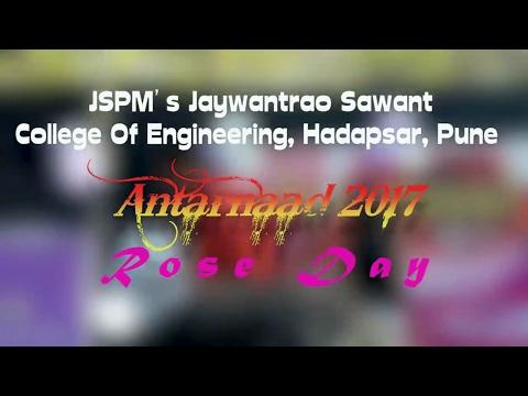 JSCOE Hadapsar Antarnaad 2k17 Rose Day|| JSPM Hadapsar Antarnaad 2017 Rose Day