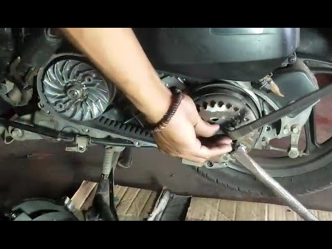 Hasil gambar untuk Tidak Membersihkan Drive Belt Motor