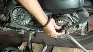 Motor Matic Wajib servis CVT - Cara Servis CVT