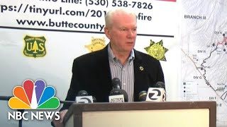 District Attorney Recounts Officer-Involved Shooting In Camp Fire Evacuation Zone   NBC News